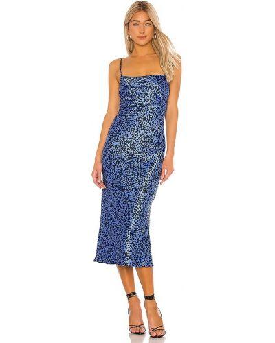 Синее платье свободного кроя с подкладкой Flynn Skye