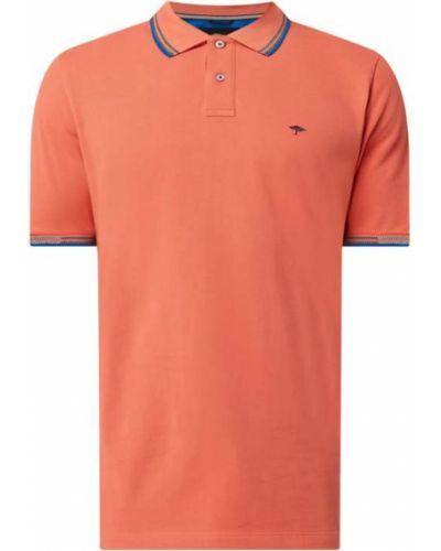 Pomarańczowy t-shirt bawełniany na co dzień Fynch-hatton