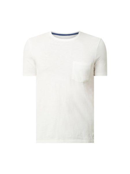 T-shirt bawełniana - biała Marc O'polo Denim
