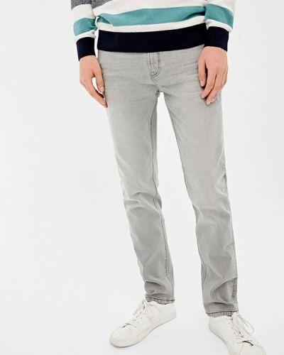 Прямые джинсы серые Springfield