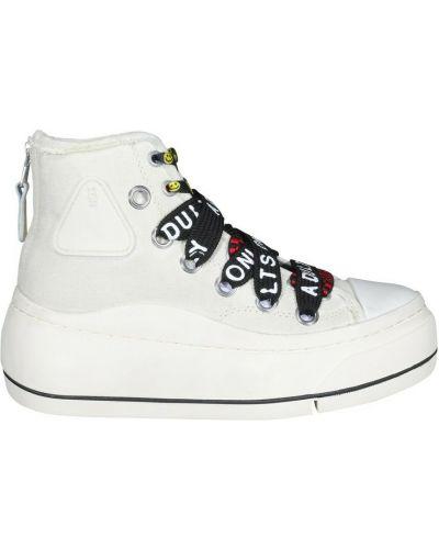 Białe sneakersy R13
