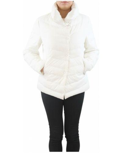 Biały płaszcz Bosideng