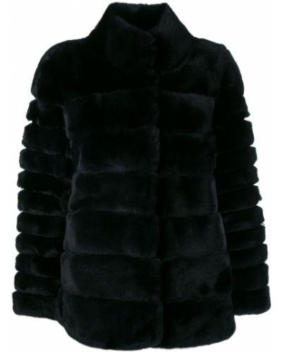 Синяя длинная куртка N.peal