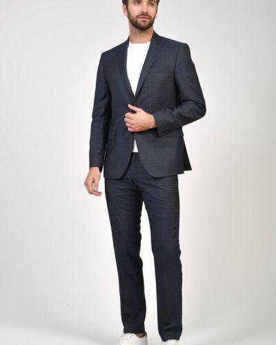 Шерстяные синие брюки Daniel Hechter