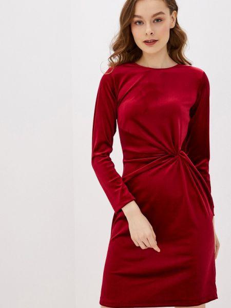 Вечернее платье бордовый красный Rinascimento