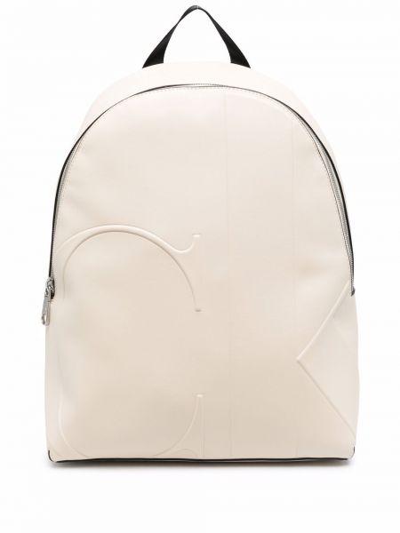Кожаная сумка - белый Calvin Klein Jeans