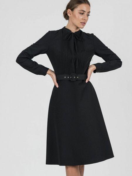 Платье прямое черное Raimaxx