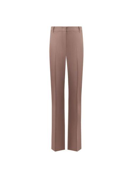 Серые со стрелками брюки из вискозы Paul&joe