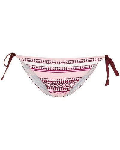 Пляжные красные плавки бикини с завязками Lemlem