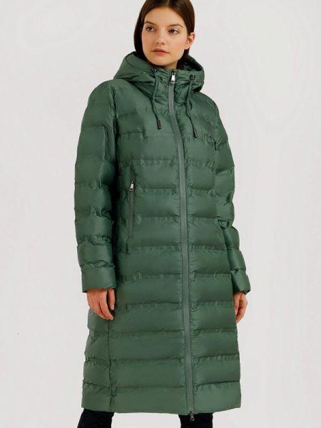 Расклешенная теплая зеленая свободная утепленная куртка Finn Flare