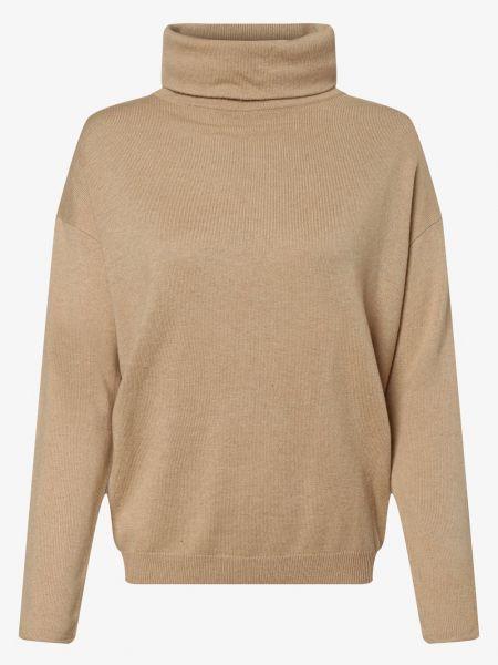 Beżowy z kaszmiru sweter Someday