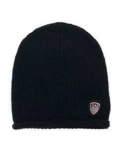 Черная шапка Ea7