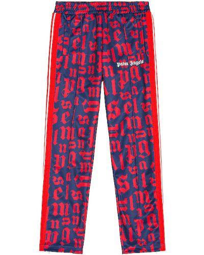 Spodnie z mankietami z kieszeniami Palm Angels