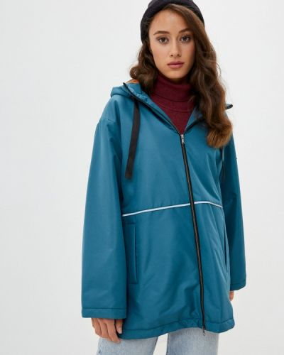 Бирюзовая утепленная куртка Doctor E