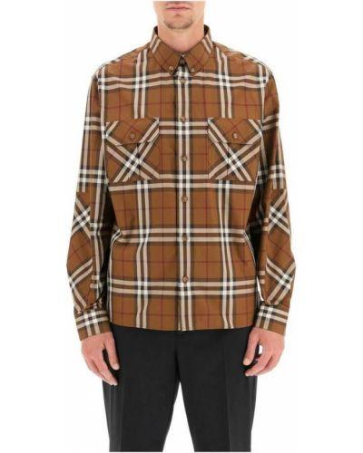 Koszula - beżowa Burberry