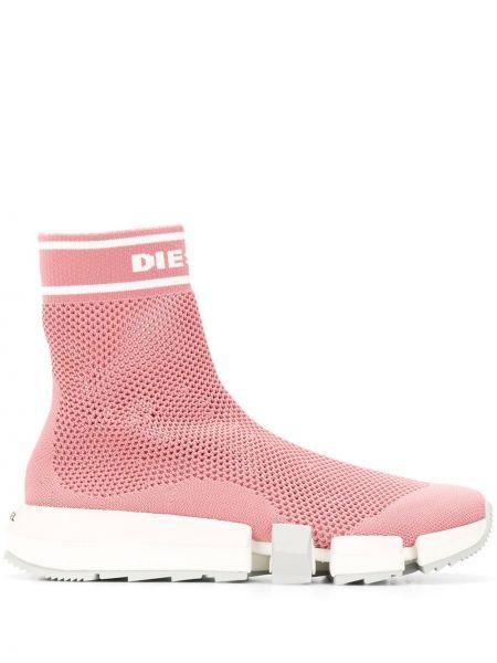 Розовые носки Diesel
