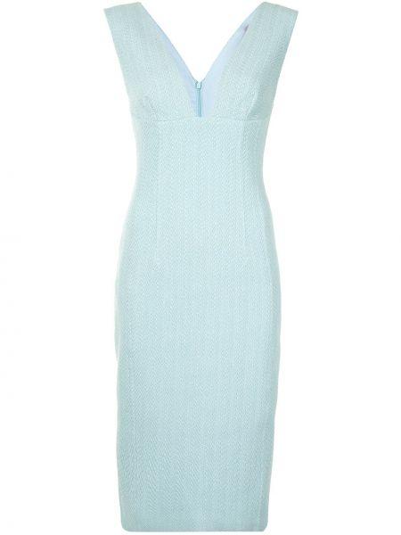 Прямое приталенное платье с V-образным вырезом без рукавов Manning Cartell