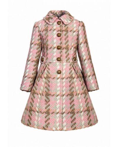 Розовое пальто Alisia Fiori