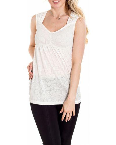 Блузка для беременных белая Lacywear
