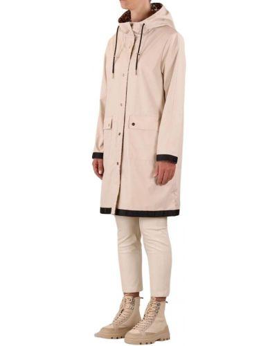 Beżowy płaszcz przeciwdeszczowy Rino & Pelle