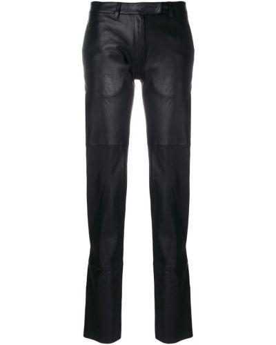 Черные брюки с поясом Olsthoorn Vanderwilt