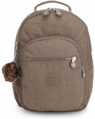 Brązowy plecak Kipling