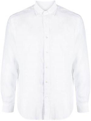 Biała koszula zapinane na guziki perły Bluemint