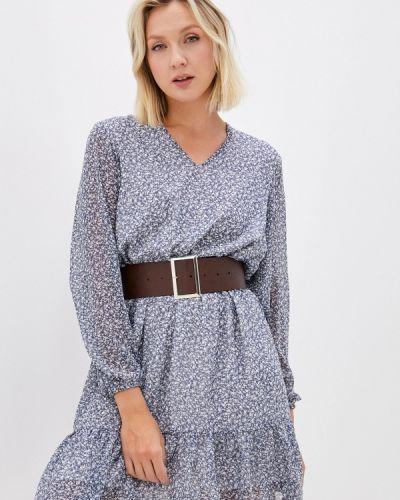 Прямое платье - синее Imocean