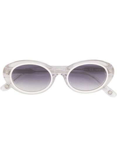 Białe okulary Cult Gaia
