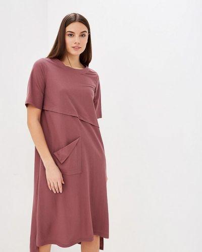 Платье бордовый красный Hassfashion