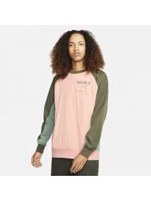 Bluza dresowa - różowa Nike