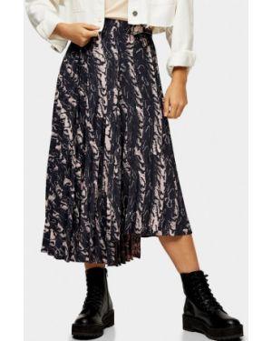 Плиссированная юбка Topshop