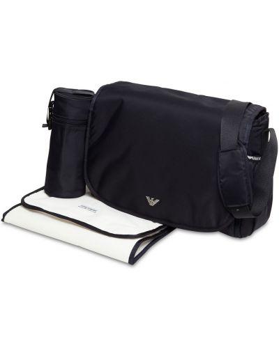 Нейлоновый рюкзак с карманами с заплатками на крючках Emporio Armani