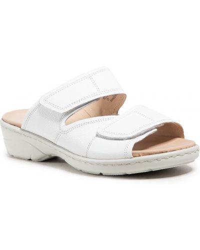 Białe sandały Caprice