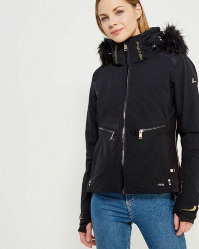 Горнолыжная куртка осенняя черная Luhta