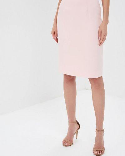 Розовая юбка карандаш с рукавом 3/4 Tutto Bene