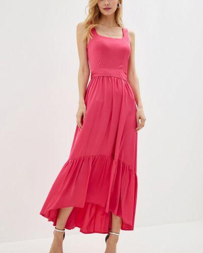 Вечернее платье весеннее розовое Imocean
