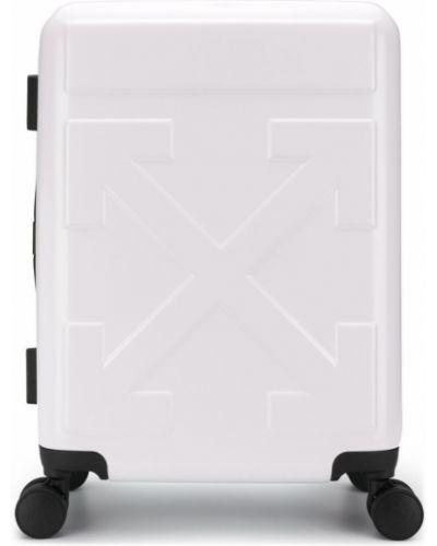 Biała walizka Off-white