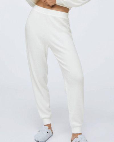 Домашние белые брюки Oysho