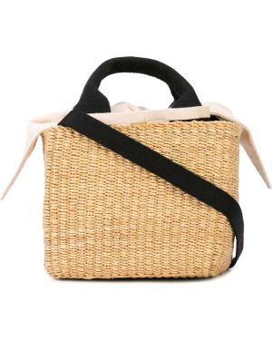 Соломенная сумка-тоут Muun