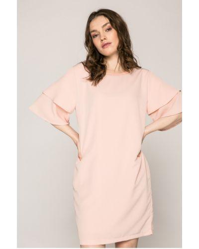 Платье мини свободного кроя с вырезом Answear