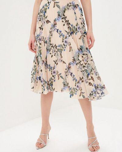 Плиссированная юбка розовая Oasis