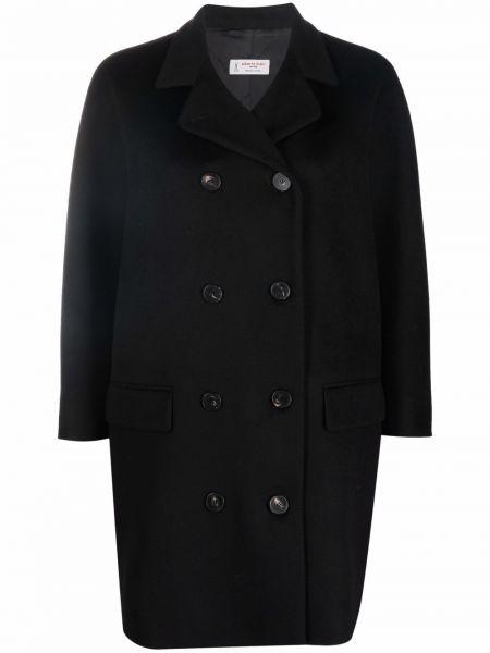 Длинное пальто - черное Alberto Biani