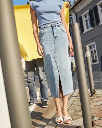Джинсовая юбка Orsay