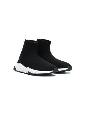 Носки черные Balenciaga Kids