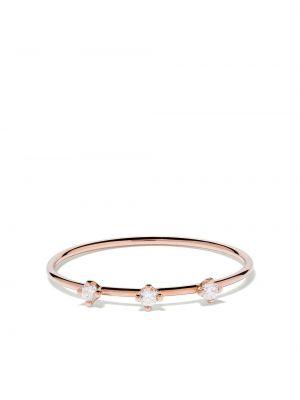 Różowy złoty pierścionek z diamentem Vanrycke