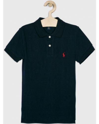 Koszulka polo na przyciskach czerwony Polo Ralph Lauren