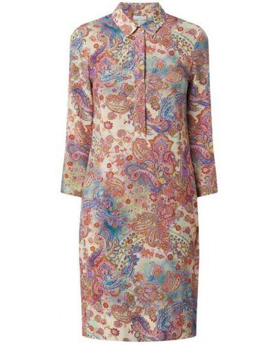 Sukienka rozkloszowana - różowa Cinque