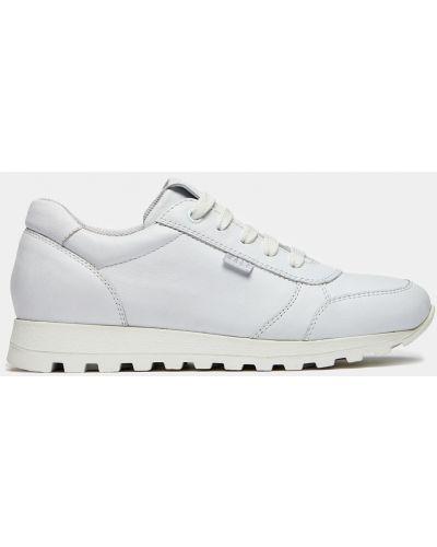 Белые кожаные кроссовки для бега Ralf Ringer
