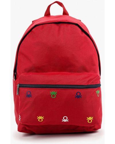 Рюкзак красный United Colors Of Benetton